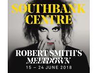 The Cure (CURÆTION-25 - Meltdown Festival), Royal Festival Hall, Southbank, London - 1 x Ticket