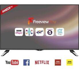 """JVC TVLT-40C860 Smart 4k Ultra 40"""" LED TV New"""