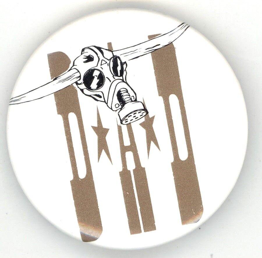DAD Original 1989-90 No Fuel Left For The Pilgrims World Tour Button Pin - $39.99