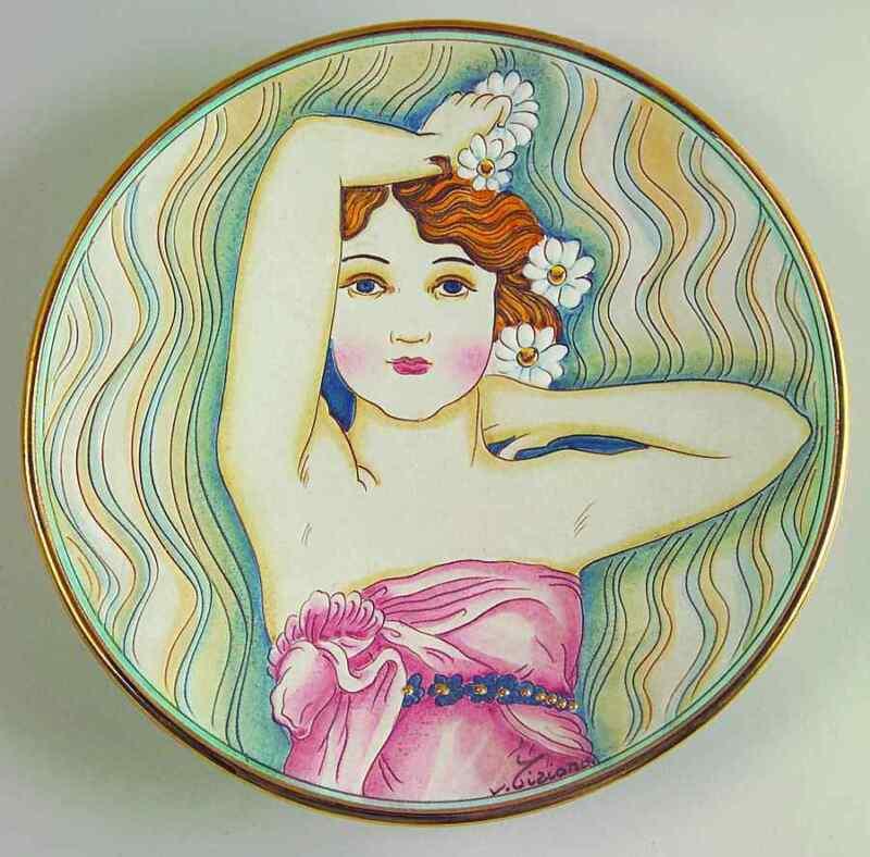 Veneto Flair La Belle Femme Plate Gigi - No Box 81051