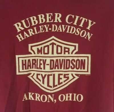 hirt Mens Large Akron OH Rubber City (Rubber City Harley)