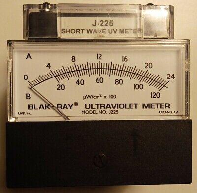 New Blak-ray Shortwave Ultraviolet Measuring Meter Model J-225