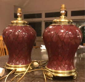 Two (2) Table Lamps
