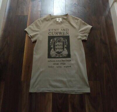 KENT & CURWEN David Beckham Heritage T-Shirt Size Small