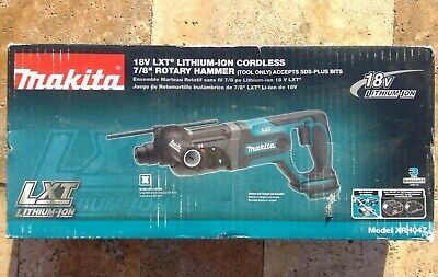 Makita Xrh04z 18v Lithium-ion Cordless 78 Rotary Hammer Tool Only