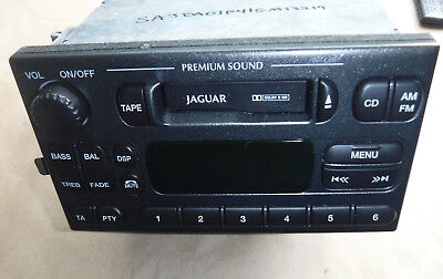 2000-02 JAGUAR S-TYPE RADIO (BL1) xr8f-18k876-chlgr (VIN Included) for sale  Buffalo