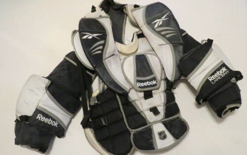 Used Reebok Larceny Pro Stock Hockey Goalie Chest Protector Size XL! Flyers