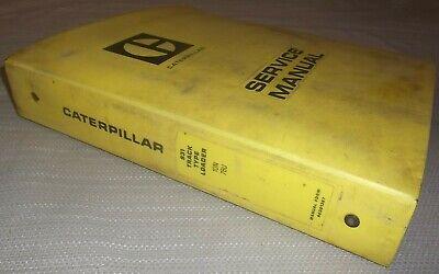 Cat Caterpillar 931 Track Loader Service Shop Repair Manual Book Sn 10n 78u
