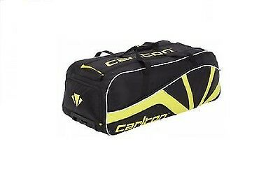 Carlton Sports Tour Large Wheelie Holdall Yellow Black Sports travel bag