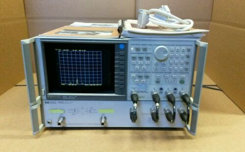HP 8753C Network Analyzer 300 kHz - 3 GHz + HP 85046B HP S-Parameter Test Set