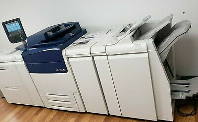 Xerox Versant 80 Press Color Production Laser Printer 80 Ppm Only 465k Total