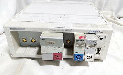 Hp Agilent M1046a Anesthesia Patient Monitor Module Control Rack