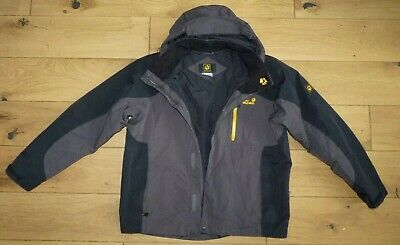 Men Jack Wolfskin Jacket Texapore Hiking Camping Breathable Waterproof size XL