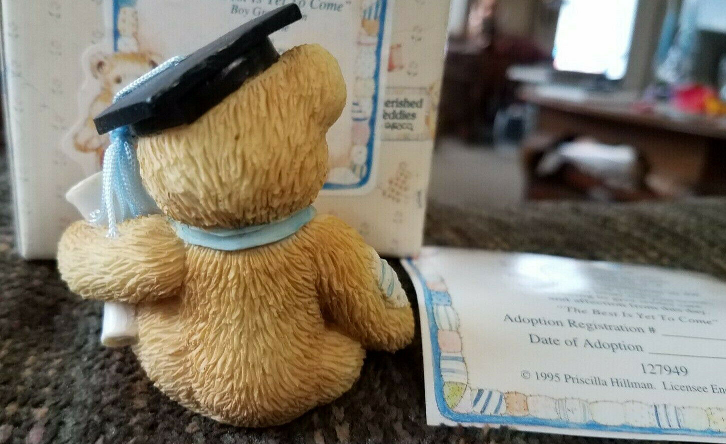 Cherished Teddies The Best Is Yet To Come Graduate 127949 W Certificate - $6.99
