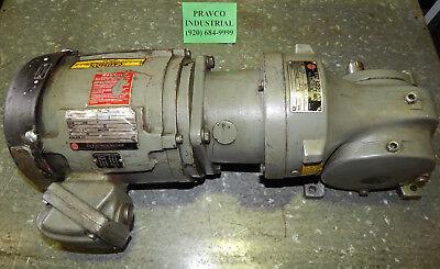 U.s. Electrical Motors B339u02t334r173f 13.33hp With Syncrogear Gear Reducer