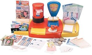 Casdon 532 Role Play Pretend Preschool Creative Toy Post Office Shop Set