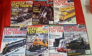 CLASSIC TOY TRAINS Magazine 2000 INCOMPLETE  7 ISSUES