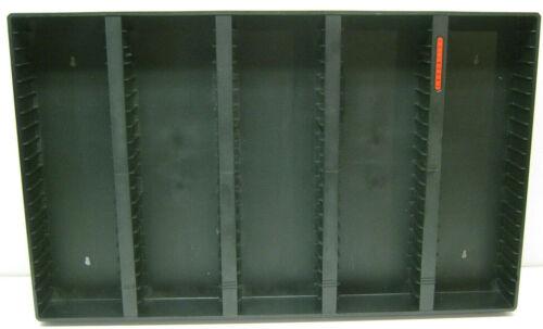 Laserline AC100 Cassette Tape Storage Display Wall Mount Rack Shelf Vintage Used