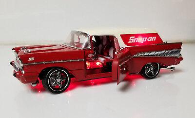 NASCAR Snap On Theme model car ss Glo nad  1:24 lights up - Nascar Theme