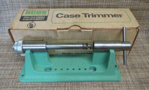 RCBS 09368 Case Trimmer Reloading
