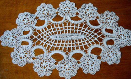 Antique excellent  doily lace hand done Russian design fine work  rare come