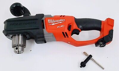 Milwaukee 2707-20 M18 Fuel Hole Hawg 12 Right Angle Drill Tool Only