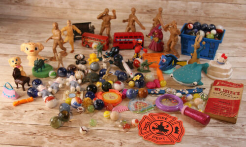 Junk Drawer Toys Marbles Soliders Hello Kitty 5 lbs - Free Shipping