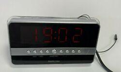 Memorex Alarm, Temp, FM/AM Digital Clock Radio...Model 4623MMO