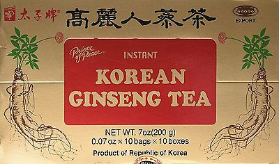 Instant Korean Panax Ginseng - Prince Of Peace Instant Korean Panax Ginseng Tea - 100 Count #3LX