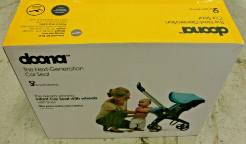 Doona Infant Baby Car Seat Travel Stroller Grey/Storm with Latch Base -open box