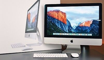 "Apple iMac 21"" QC i5 2.7Ghz 8GB 1TB HDD Slimline A+ Grade (Late2012) AppleBox"