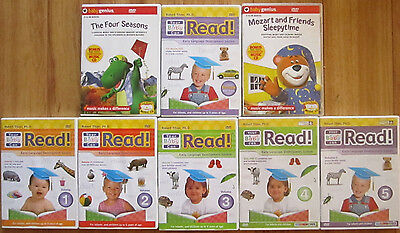 Your Baby Can Read Early Language Development - 6 DVDs  1-5 & Review + 2 Extras
