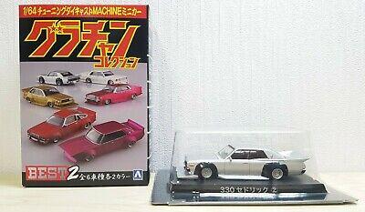 2 Aoshima 1//64 1979 NISSAN SILVIA Grachan 10 Liberty Walk S110 GOLD diecast