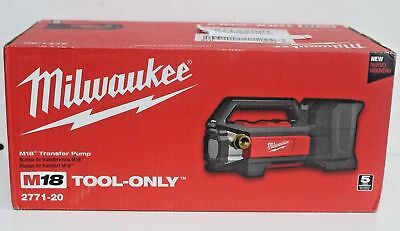 Milwaukee 2771 20 M18 18 Volt Cordless Water Transfer Pump 480 Gallons Hour
