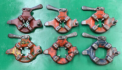 Ridgid 500 Pipe Threading Threader Die Heads 12-2 Rigid 300 535 Great Set 5