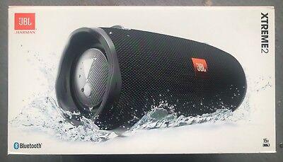 JBL Xtreme 2 Portable Bluetooth Wireless Waterproof Speaker - (Black)
