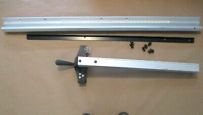Fence Assy 1344610 Wfront Rear Rails From Delta 36-650 10 Table Saw