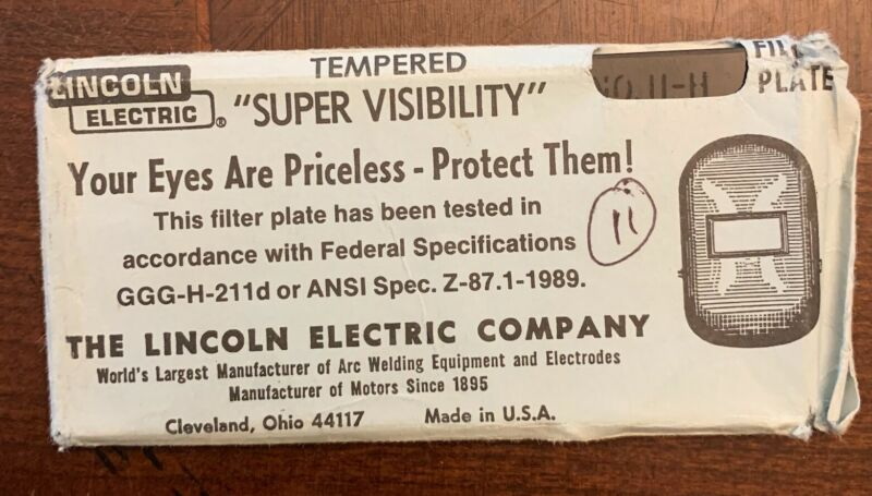 Lincoln Electric Supervisibility Shade 11 Lens