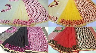 Kota Doria Cotton Saree - Exclusive Kota Doria Rajasthan Pearl Work Saree Soft Pure Cotton Embroidery Sari