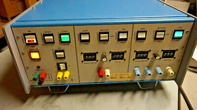 Multi-amp Corp Ssr-78 Digital Protective Relay Test Set Excellent -warranty