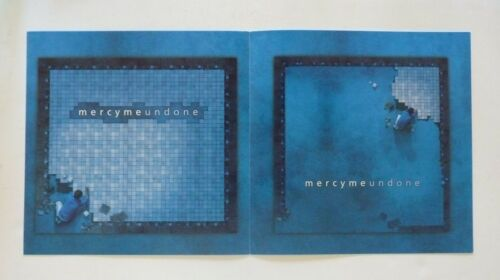 MercyMe Mercy Me Undone LP Record Photo Flat 12x12 Poster