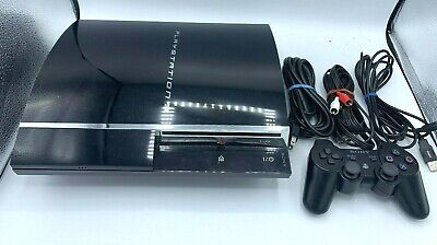 Sony PlayStation 3 60GB Console System (CECH-A01), New Thermal Paste, Works, PS3