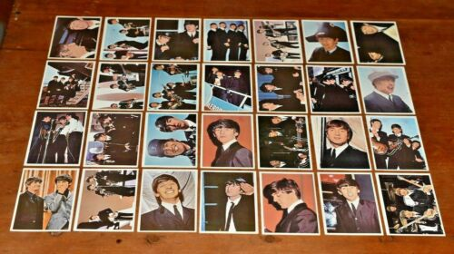 Lot of 49 1964 TOPPS BEATLES DIARY Trading Cards-Low Price-No Reserve