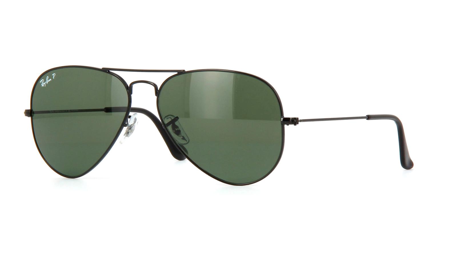 d75a5ec0e Ray-Ban RB3025 002/58 Aviator Classic Black Sunglasses for sale ...