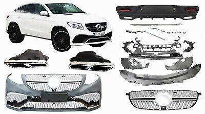 Paket Stoßstange 63 AMG Optik Mercedes C292 GLE Coupe Umbau Vorne Hinten