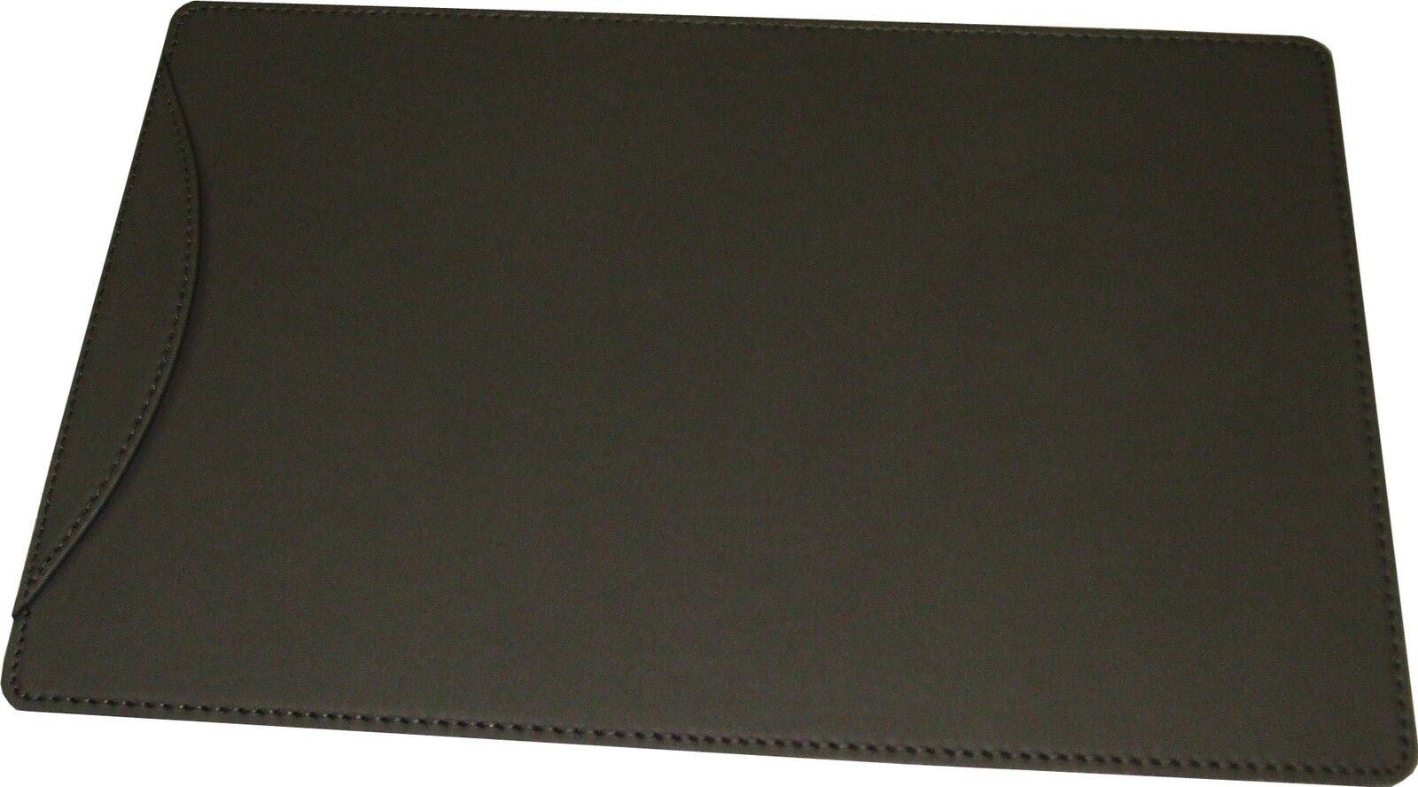 schreibunterlage schreibtischunterlage echt leder schwarz 60 x 40 cm m lasche eur 52 50. Black Bedroom Furniture Sets. Home Design Ideas