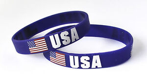 Country Wristbands - World Cup Olympics Summer Winter Euros - All Nations