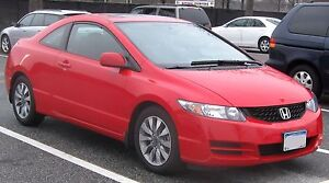 2009 Honda Civic Coupe, Leather Low km