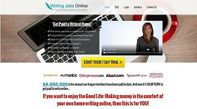 Make Money Jobs Blog Self Updating Website Clickbank