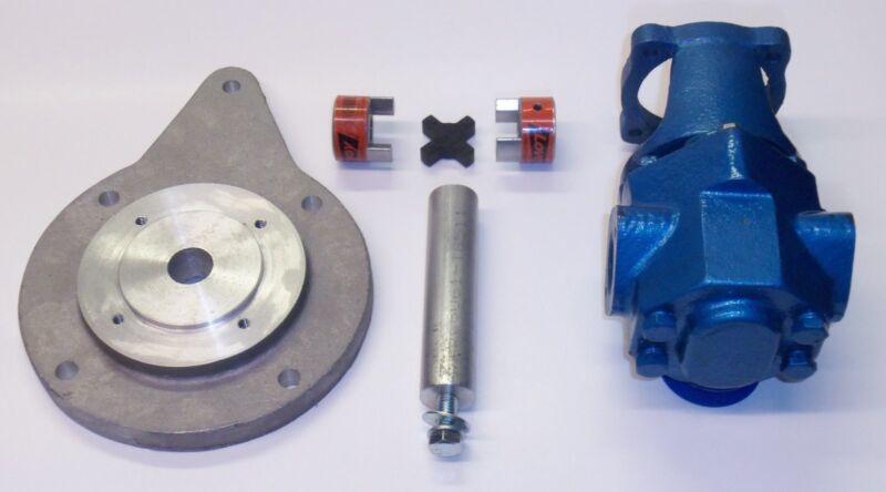 Oil transfer Pump Kit 24 GPM Gear Pump Heating Oil, Diesel, Biodiesel, Waste Oil